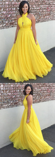 Yellow Prom Dress, Party Dresses, Formal Dresses, Back to School Dress