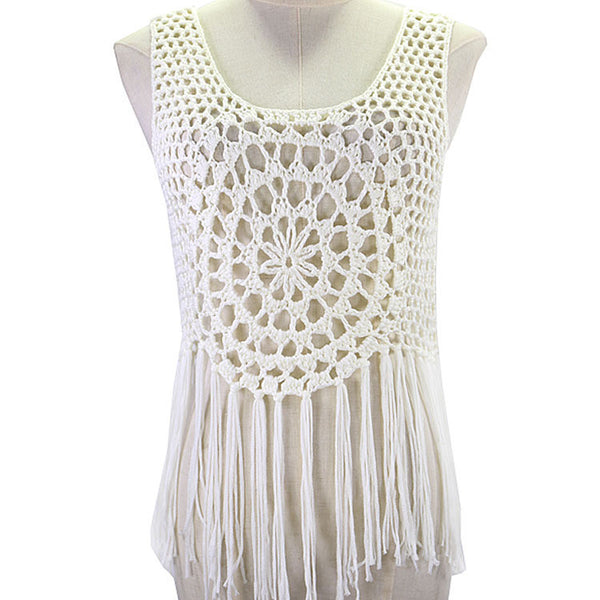 Crochet T-Shirt Top bb0134