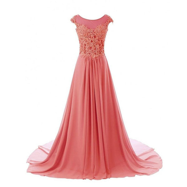 A Line Lace Prom Dresses Homecoming Dresses pst0427