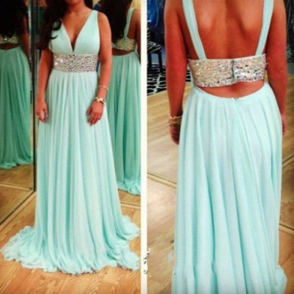 Chiffon Prom Dresses Graduation Party Dresses pst0442