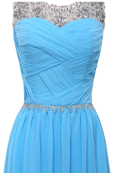 Elegant Chiffon Prom Dress pst0473