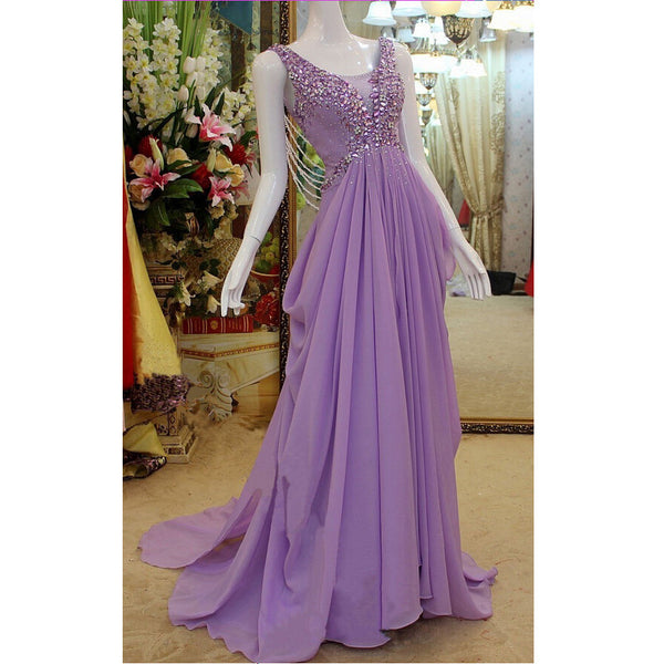 Affordable Long Dress For Prom Party pst0636
