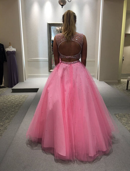 2 Pieces Ball Gown Prom Party Dress pst0647