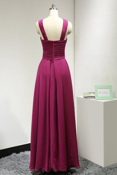 Long Prom Dress Prom Dresses In Chiffon pst0774