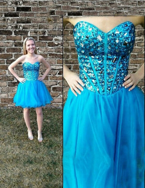 Graduation Party Dresses Homecoming Dress pst0872