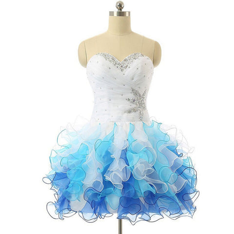 Homecoming Dress 8th Grade Graduation Dresses Short Prom Dress  pst0931