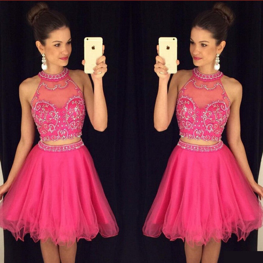 2016 Homecoming Dresses Short Summer Prom Party Dress pst0971