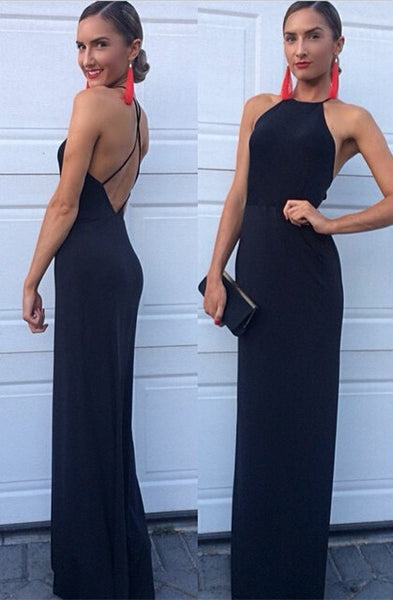 Backless Prom Dress Evening Party Gown pst1031
