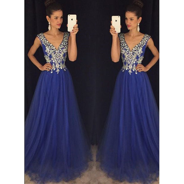 V Neckline Military Ballgown Dress for Prom Party pst1419
