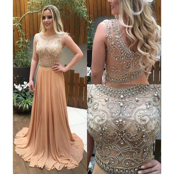 995b20b631fa9 Heavy Beaded Prom Dresses Party Gown Cocktail Formal Wear pst1510 ...