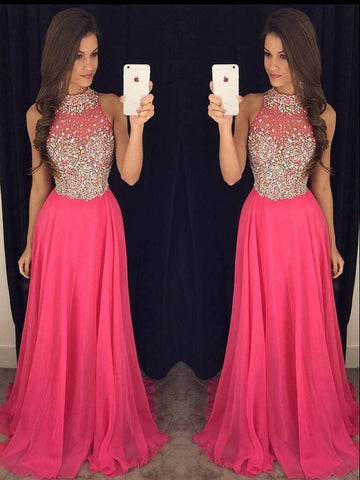 2018 Prom Dress Long, Prom Dresses, Graduation Party Dresses, Pageant Dresses, Formal Dresses