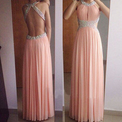 Sheeth Beaded Chiffon Celebrity Prom Dresses Evening Gowns pst0134