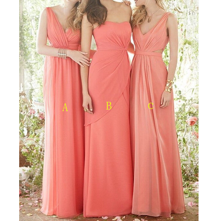 Multi Styles Floor Length Bridesmaid Dresses pst0261
