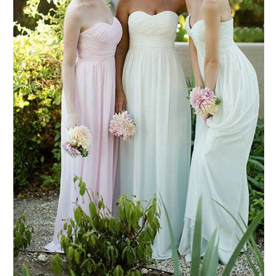Multi Colors Bridesmaid Dresses Floor Length pst0339