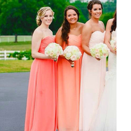 Floor Length Bridesmaid Dresses Floor Length pst415