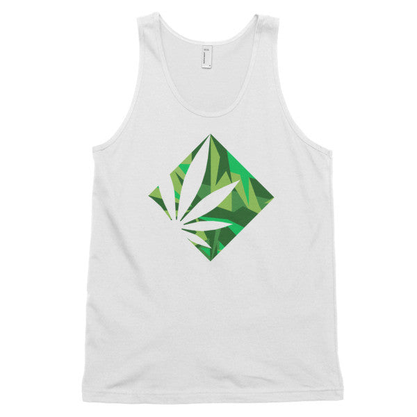 Square Leaf Tank Top (unisex)