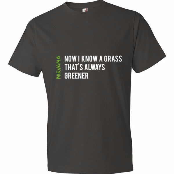 Nirvana Grass - Short sleeve t-shirt