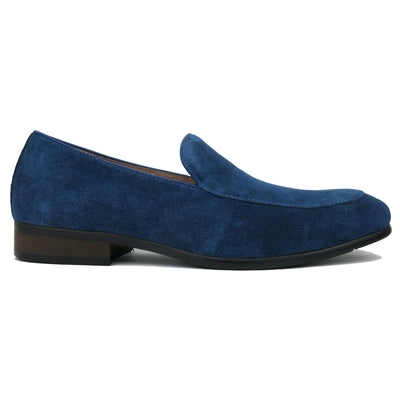 SMUGS Blue Suede Loafer