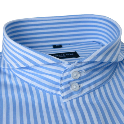 High Cutaway Big Stripes Shirt