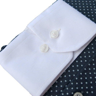Limited Edition Extreme Cutaway Polka Contrast Premium Shirt