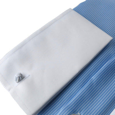Limited Edition Extreme Cutaway Pinstripe Contrast Non-Iron Premium Shirt French Cuff
