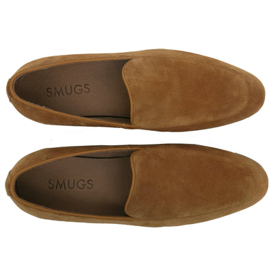 SMUGS Brown Suede Loafer