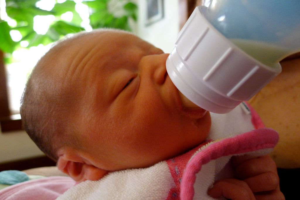 When to Supplement Breast Feeding with Formula