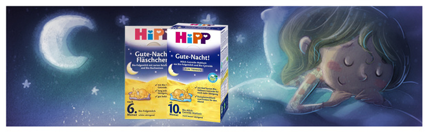 Hipp Goodnight- Helping Your Baby Sleep Better
