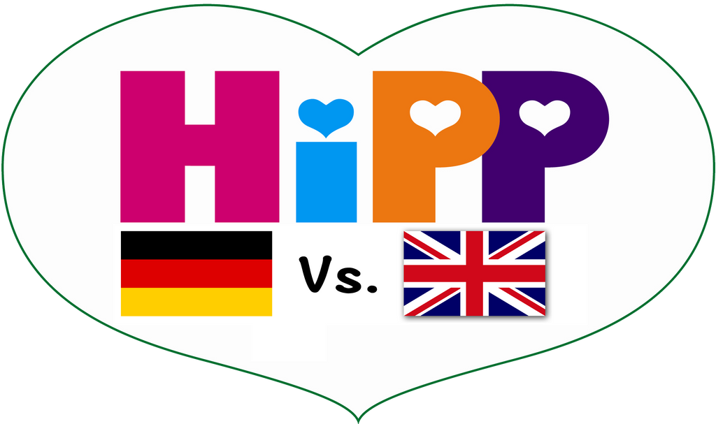 HiPP's Germany Vs. HiPP UK