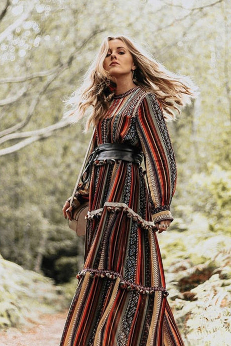 The Prettiest Boho Dresses & Jackets That Were Made to Be Worn in Autumn