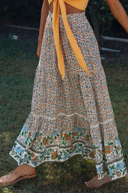 Boho Skirt, Maxi Skirt, Ophelia in Dusty