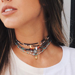 Boho Necklace, Vacation