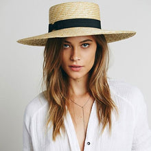 Load image into Gallery viewer, Boho Hat, Sun Hat, Beach Hat, Straw Hat, Must Have