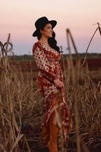 Load image into Gallery viewer, Maxi Dress, Boho Dress, Gown, in Bark Wood