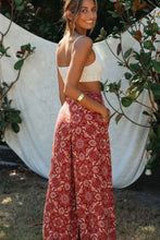 Load image into Gallery viewer, Boho Pant, Palazzo Pant, Wild Gypsy in Indian Red