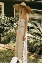 Load image into Gallery viewer, Boho Jumpsuit, Romper, Playsuit, Pamelo in Ivory