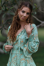Load image into Gallery viewer, Boho Blouse,  Maisie in Green
