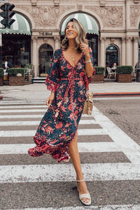 Maxi Dress, Boho Dress,  Ilona Twilight