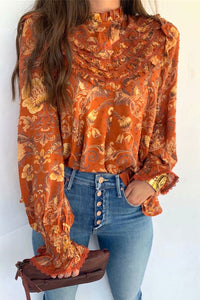 Boho Blouse, Copper Rose
