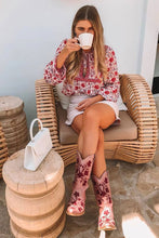 Load image into Gallery viewer, Boho Blouse, Muse in Rose