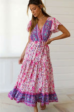 Load image into Gallery viewer, Maxi Dress, Boho Dress, Fresh Fuchsia