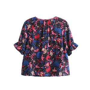 Boho Blouse, Ilona Midnight