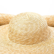 Load image into Gallery viewer, Boho Hat, Sun Hat, Beach Hat, Extra Large Wide Brim Straw Hat (45 cm)