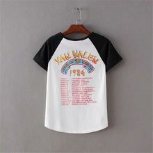 Load image into Gallery viewer, Boho Tee, Vintage T Shirt, the Van Halen