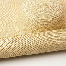 Load image into Gallery viewer, Boho Hat, Sun Hat, Beach Hat, Extra Large Wide Brim, Straw Hat, 3 colors (Soft, 26 cm)