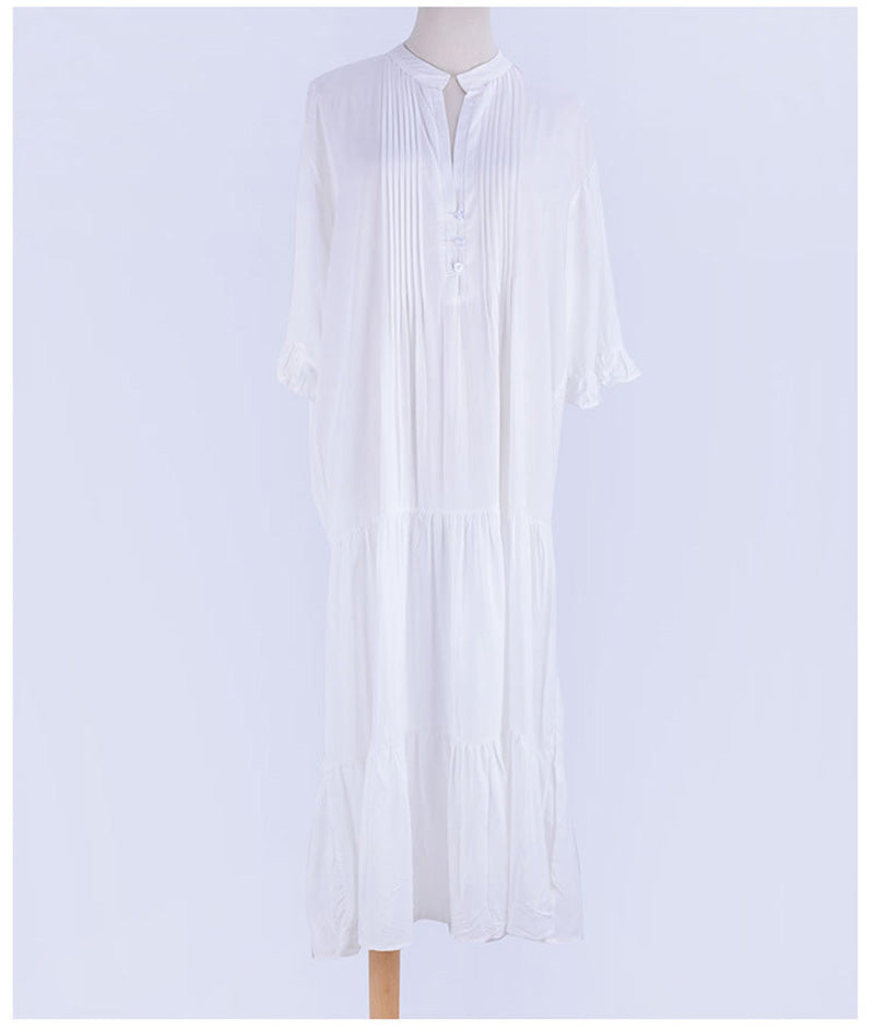 Beach Dress, Cover Up, Ivy All White