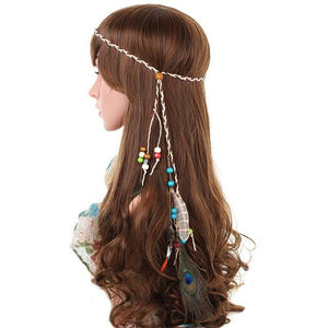 Boho Feather Headband, Free Spirit