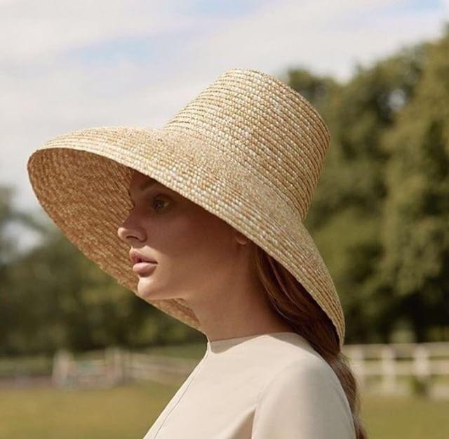Boho Hat, Sun Hat, Beach Hat, Wide Brim Straw Hat, High Crown