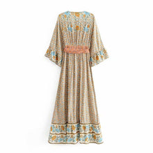 Load image into Gallery viewer, Maxi Dress, Boho Dress, Ophelia in Dusty