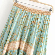 Load image into Gallery viewer, Boho Skirt, Maisie in Green